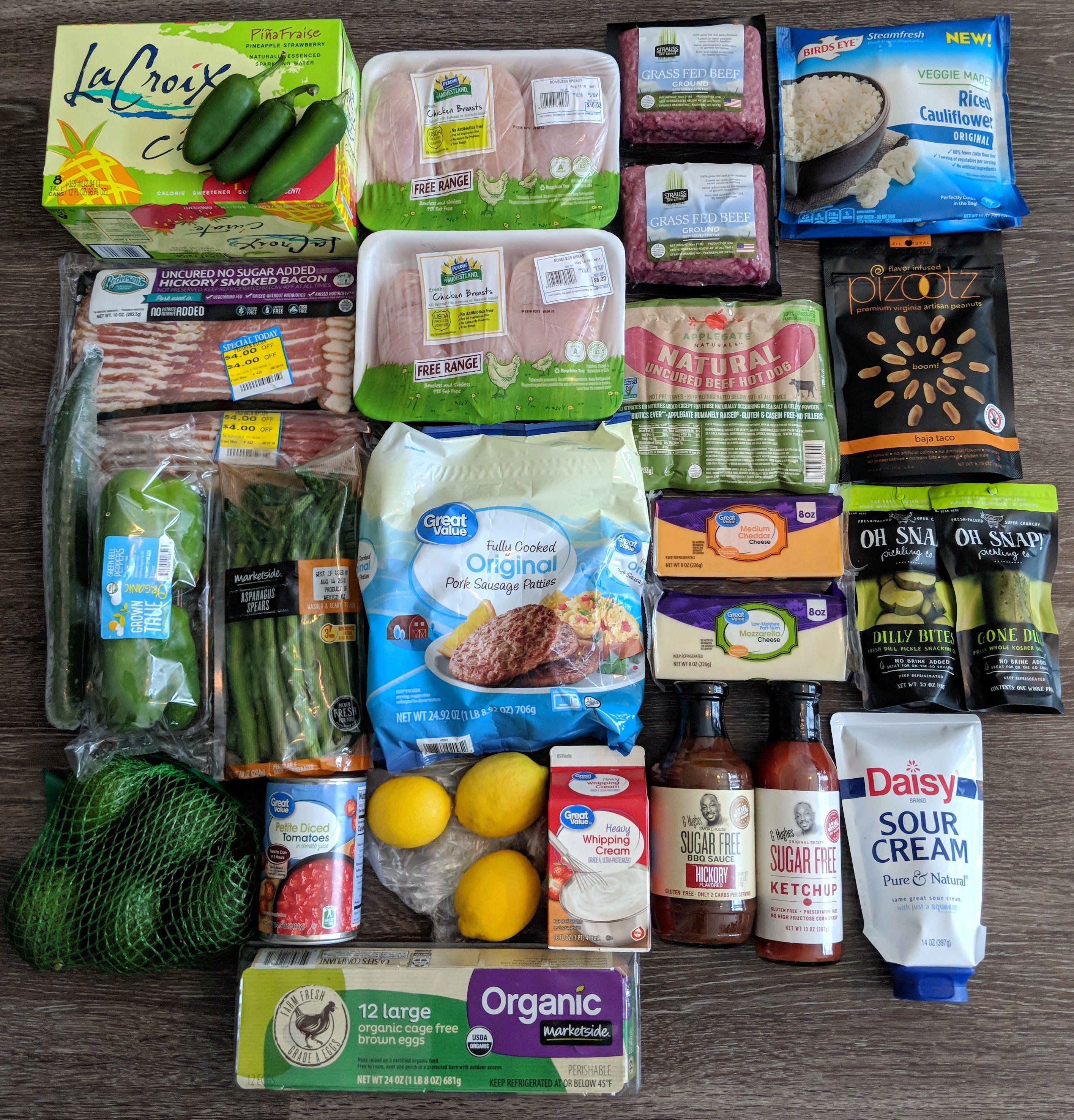 Low Carb Walmart Grocery Haul Keto Shopping List Low Carb Grocery Healthy Groceries