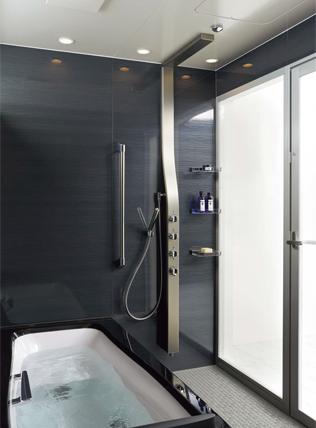 Lixil 浴室 スパージュ 施工イメージ スパージュ 現代的な