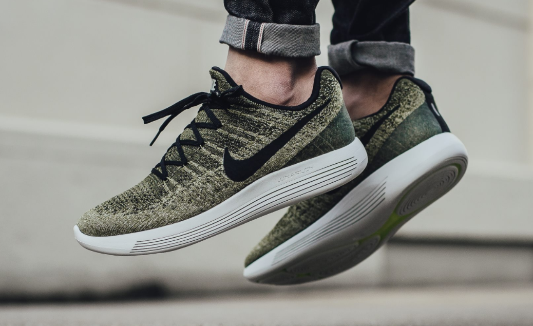 "Nike LunarEpic Flyknit Low 2 ""Rough Green"" | Moda masculina"