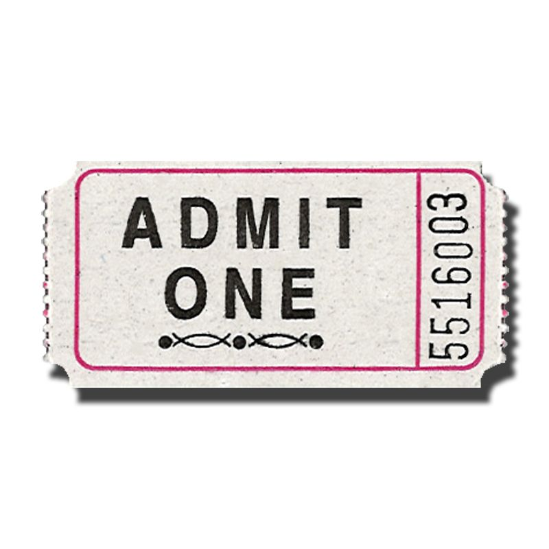 white tickets Premium Admit One Roll Tickets - Doolinu0027s Party - admit one ticket template