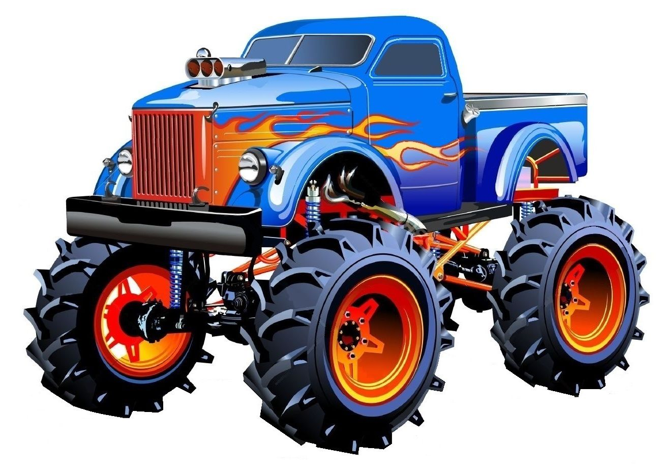 Pin By Coding Banana On Hot Whaels Monster Trucks Monster Truck Art Truck Art