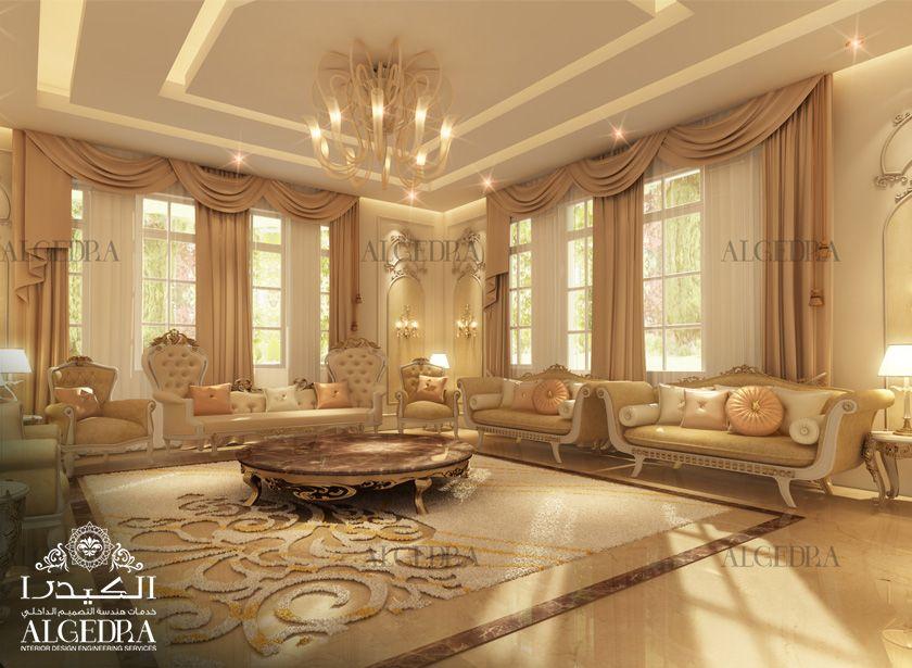 Majlis interior design women majlis interior designs by for Residential interior design ideas