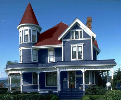 Awesome Color With Red Roof For The Home Pinterest Red Roof House House Colors Victorian Homes