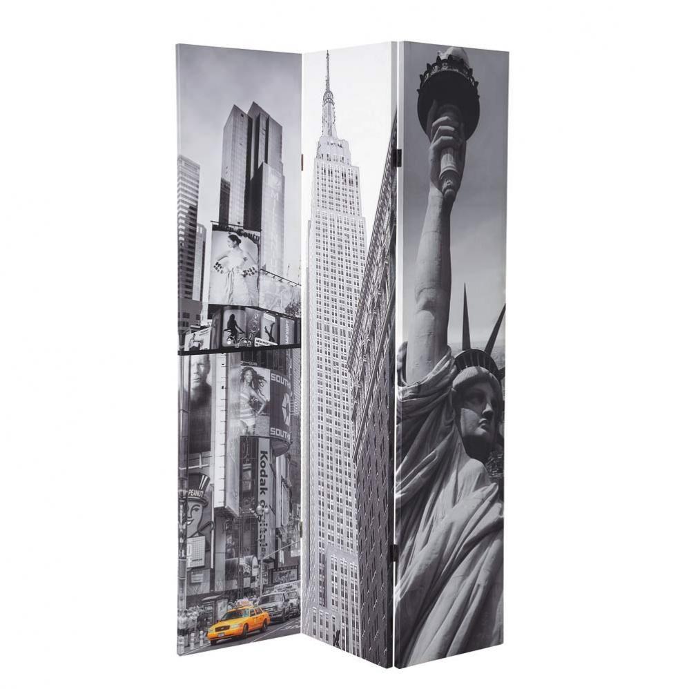 Attrayant Deco New York Maison Du Monde #13: Paravent New York Maison Du Monde Dimensions (cm) : H 180 X L 120 X P 8 75  U20ac 0800 80 40 20