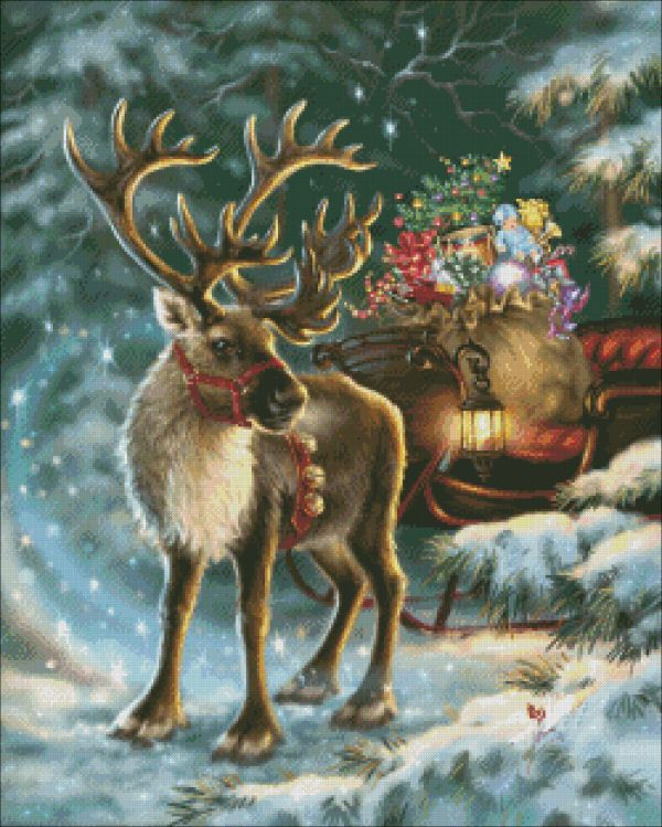 Mini The Enchanted Christmas Reindeer
