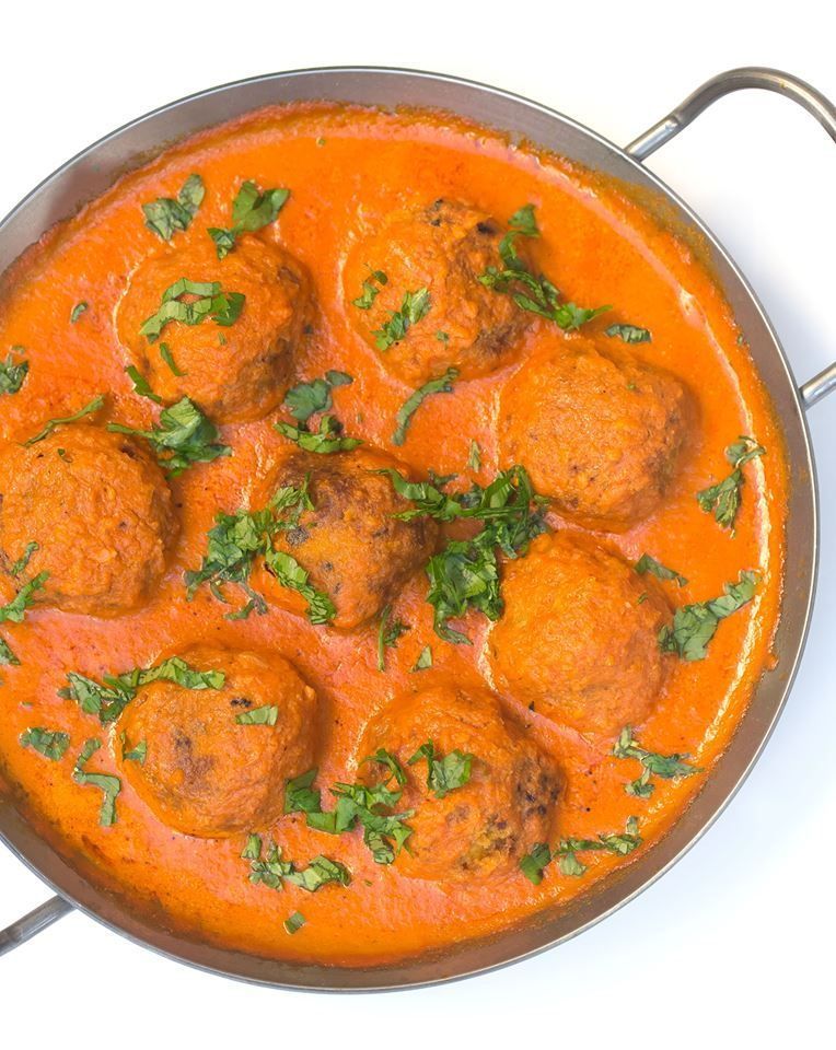 Photo of Potato balls in hot curry sauce