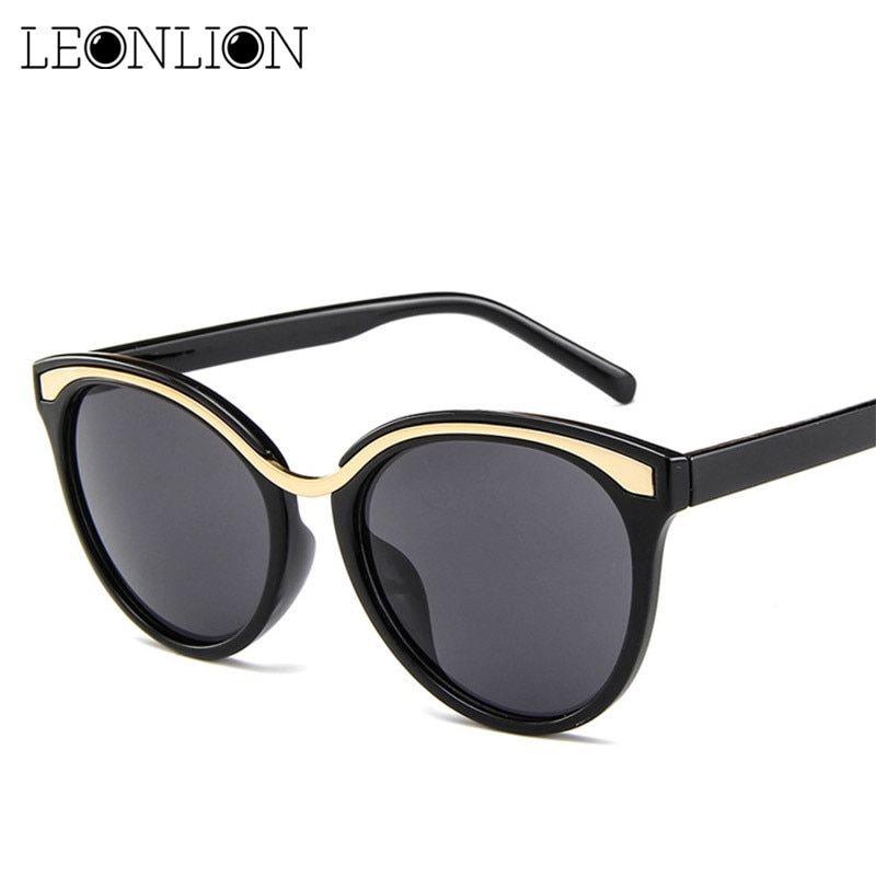 62ca403ead LeonLion 2018 Candy Color Sunglasses Women Men Luxury Top Brand Designer  Candies Lens Lady Sun Glasses Classic Retro Goggle