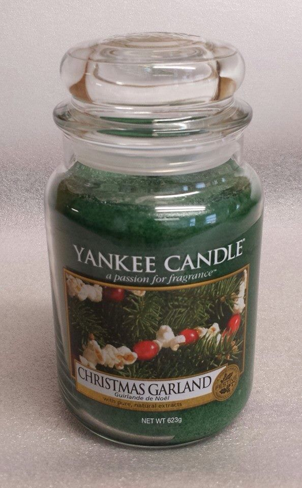 Christmas Garland New Yankee Candle Yankee Candles In 2019