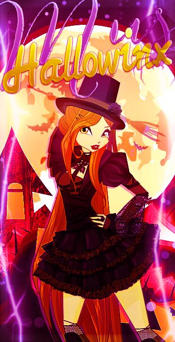 Винкс Клуб: Картинки аватарки на Хэллоуин | Хэллоуин, Блум ...