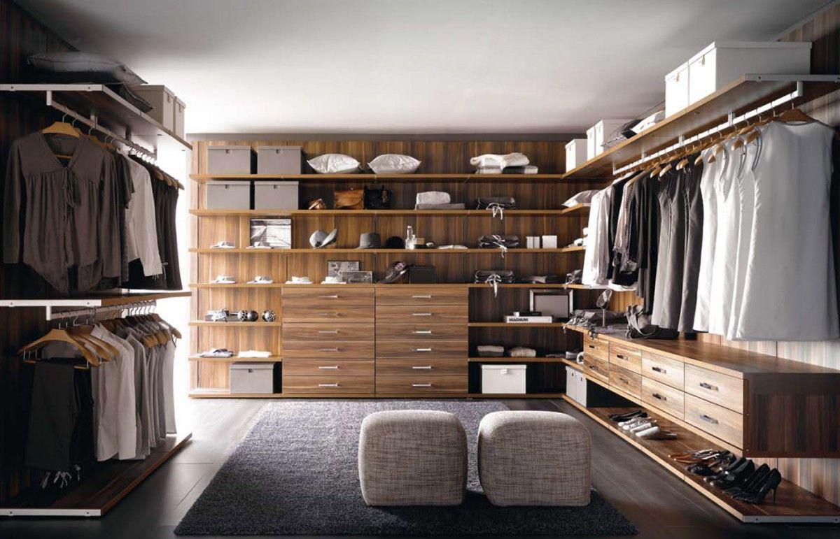 Armarios y Vestidores de diseño. Vestuarios de lujo con armarios a ...