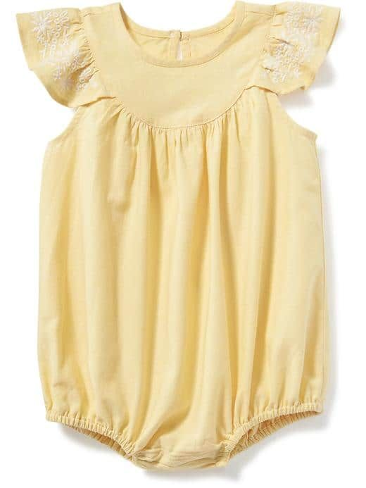 f6b066b5294 Flutter-Sleeve Bubble Romper for Baby