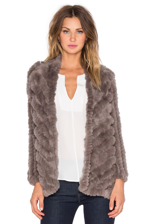 Tilda Rabbit Fur Jacket | Rabbit fur, Fur and Rabbit
