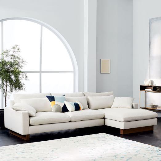 Comfortable Sofa harmony 2-piece chaise sectional | comfortable sofa, living rooms