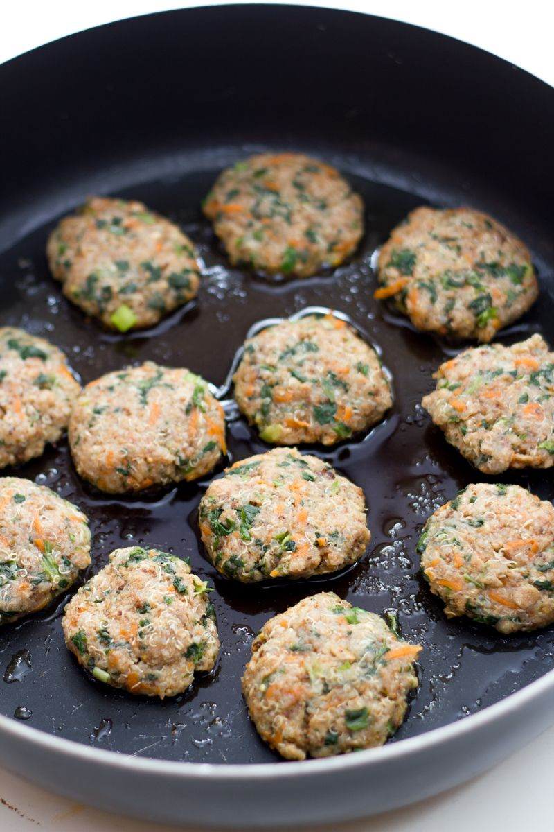 Photo of Spinach Quinoa Patties – Back to Her Roots