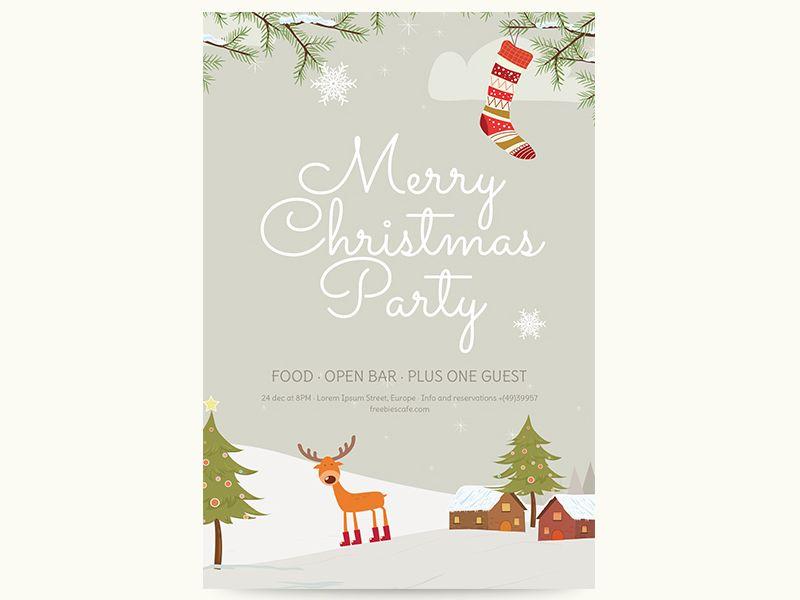 Freebie - Merry Christmas Flyer Christmas flyer