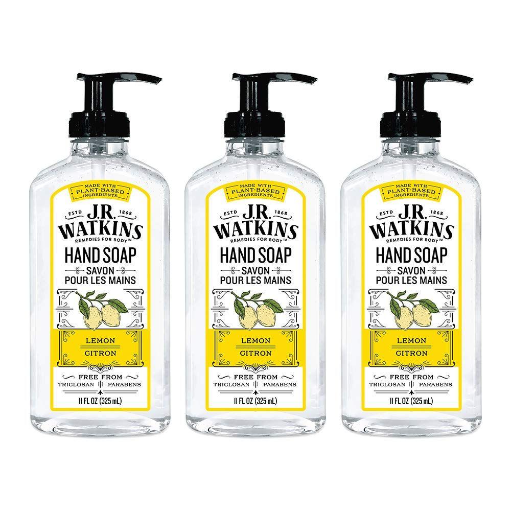 Jr Watkins Gel Hand Soap Lemon Jr Watkins Gel Lemon