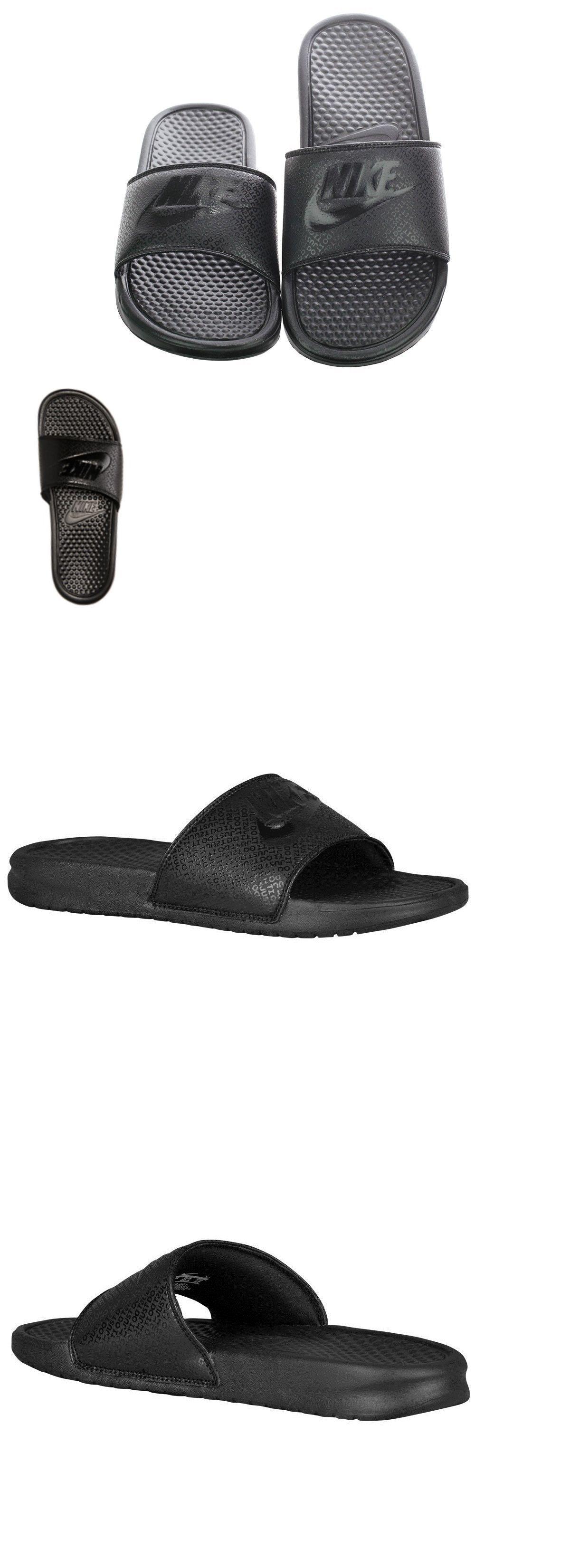 Sandals 11504  Nike Benassi Jdi Men S Slide Black Black Slipper 343880 001 Free  Shipping -  BUY IT NOW ONLY   27.95 on  eBay  sandals  benassi  slide  black  ... b8257aed5