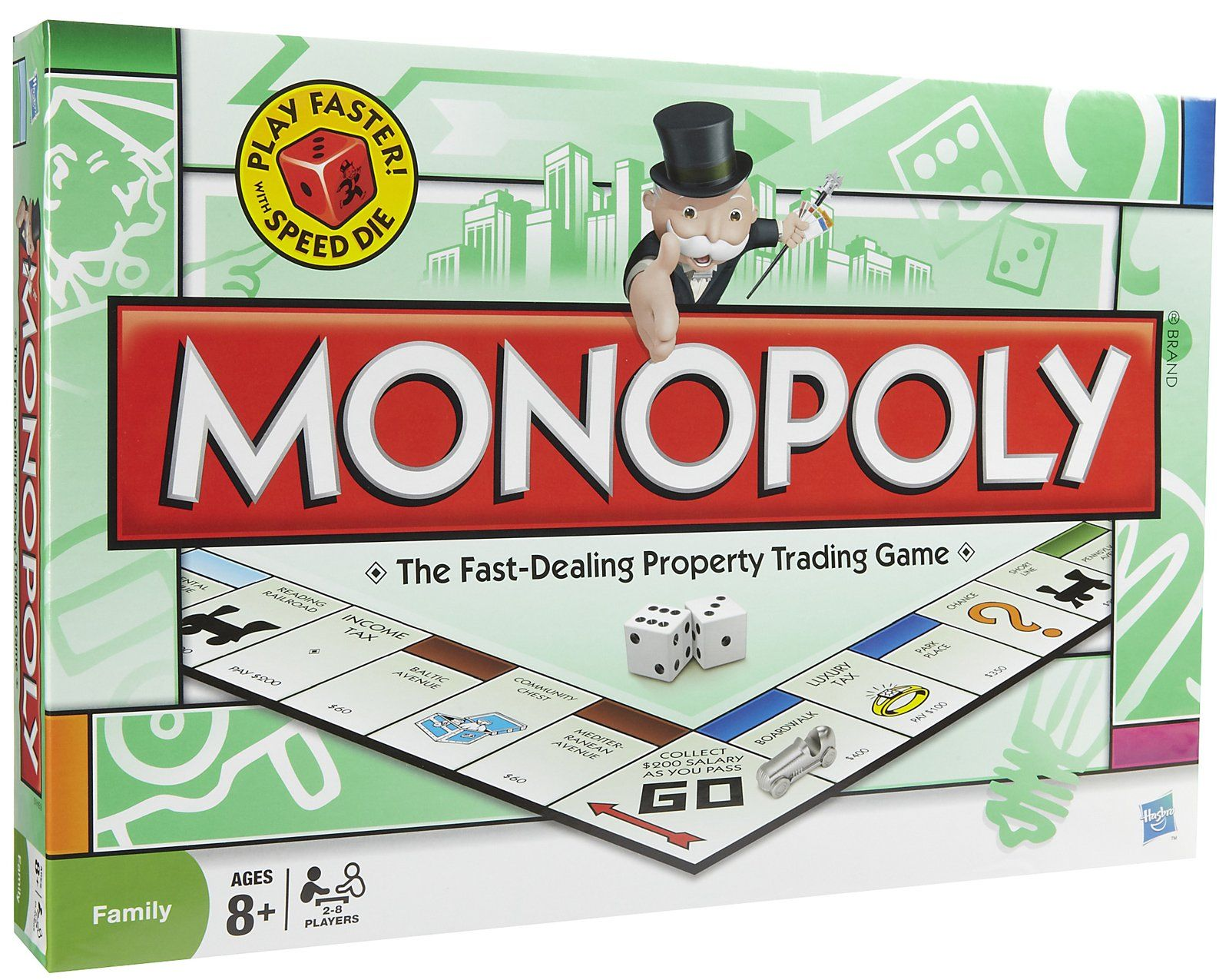 Hasbro Games Monopoly Free Shipping Monopoly, Games
