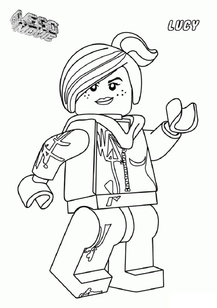 lego wyldstyle coloring pages | Coloring Pages For Kids | Pinterest