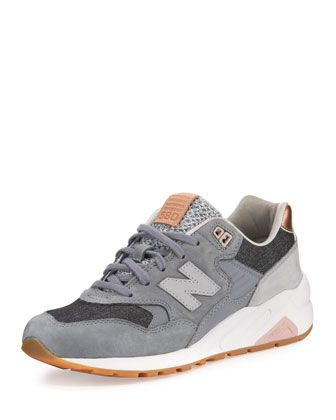295c774706d8d New Balance suede and fabric sneaker. 1.5