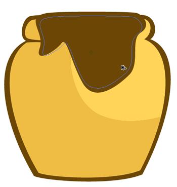 Drawing A Honey Pot In Illustrator Honey Pot Winnie The Pooh Honey Bee Crafts