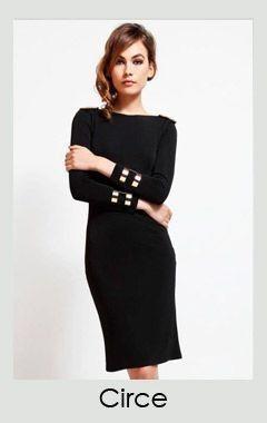 Vestido negro corto tiendas