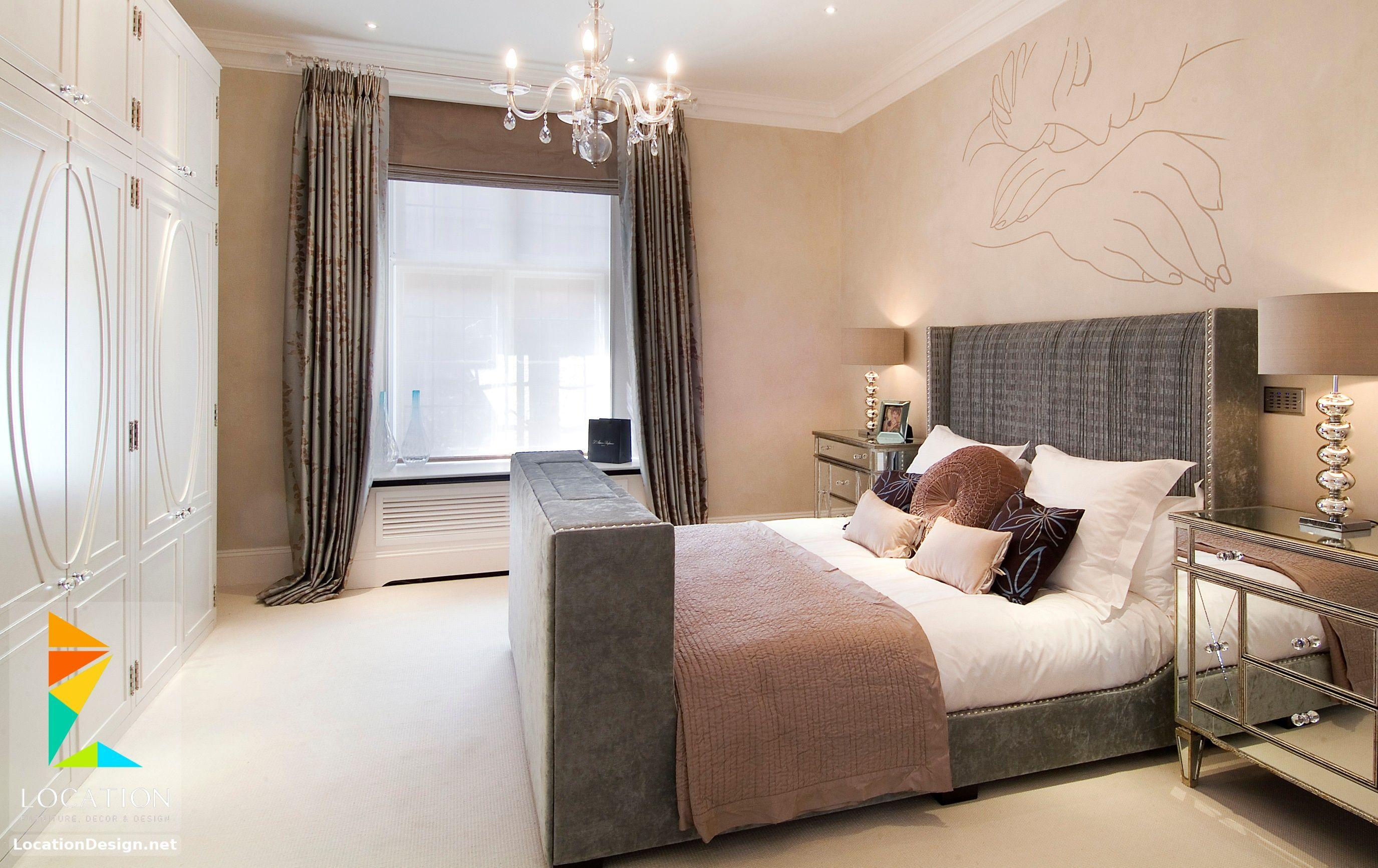 ديكورات غرف نوم صغيرة وبسيطة لوكشين ديزين نت Master Bedroom Design Small Master Bedroom Luxurious Bedrooms