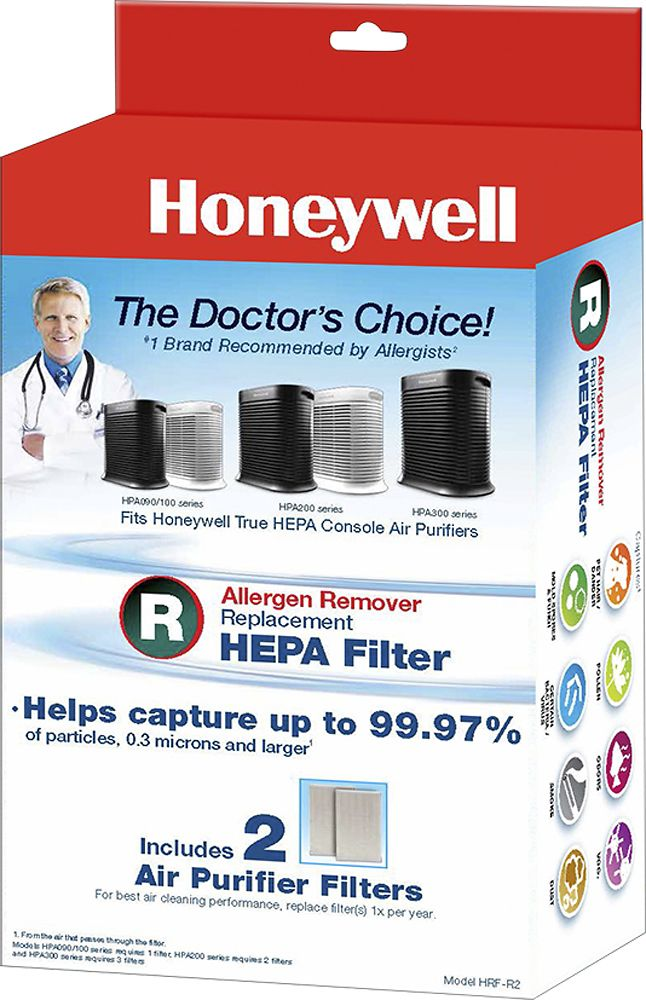 Honeywell True HEPA Filters for Select Air Purifiers (2