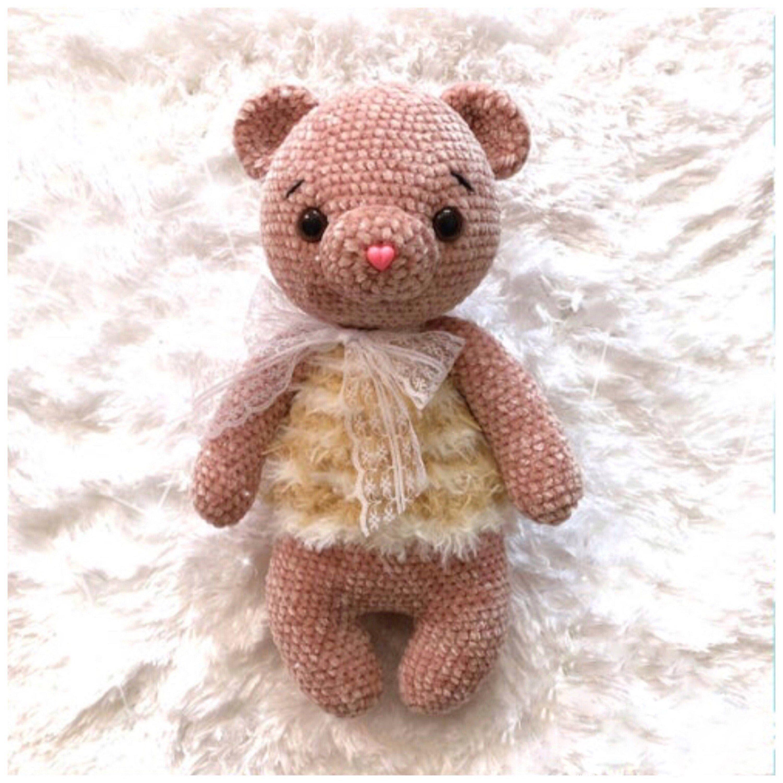 baby shower gift handmade toys for kids crochet teddy bear stuffed animal handmade teddy bear nursery ideas nursery toy