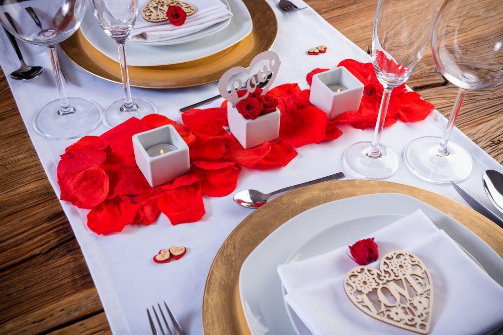 Cena rom ntica en casa pack rom ntico eros de for Preparar cita romantica