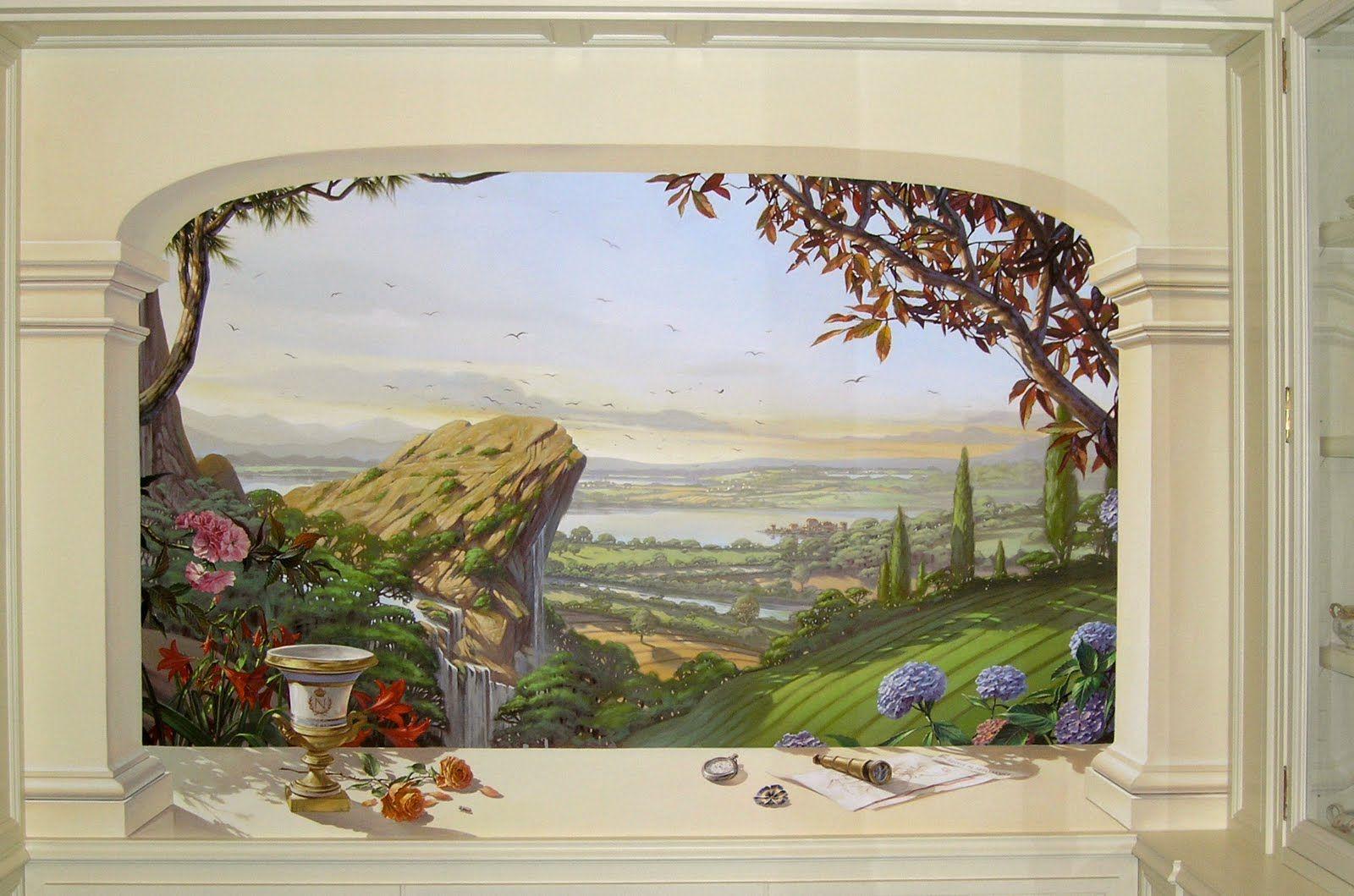 Lo spazio dipinto roma sala da pranzo pittura for Pittura sala da pranzo