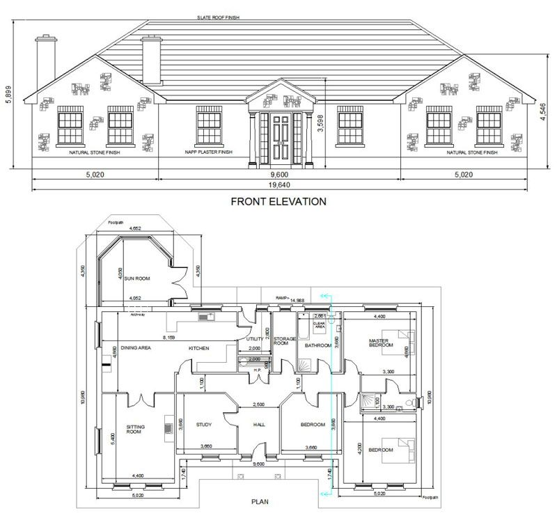 Image Result For Modern Irish Bungalow Designs Drawings House