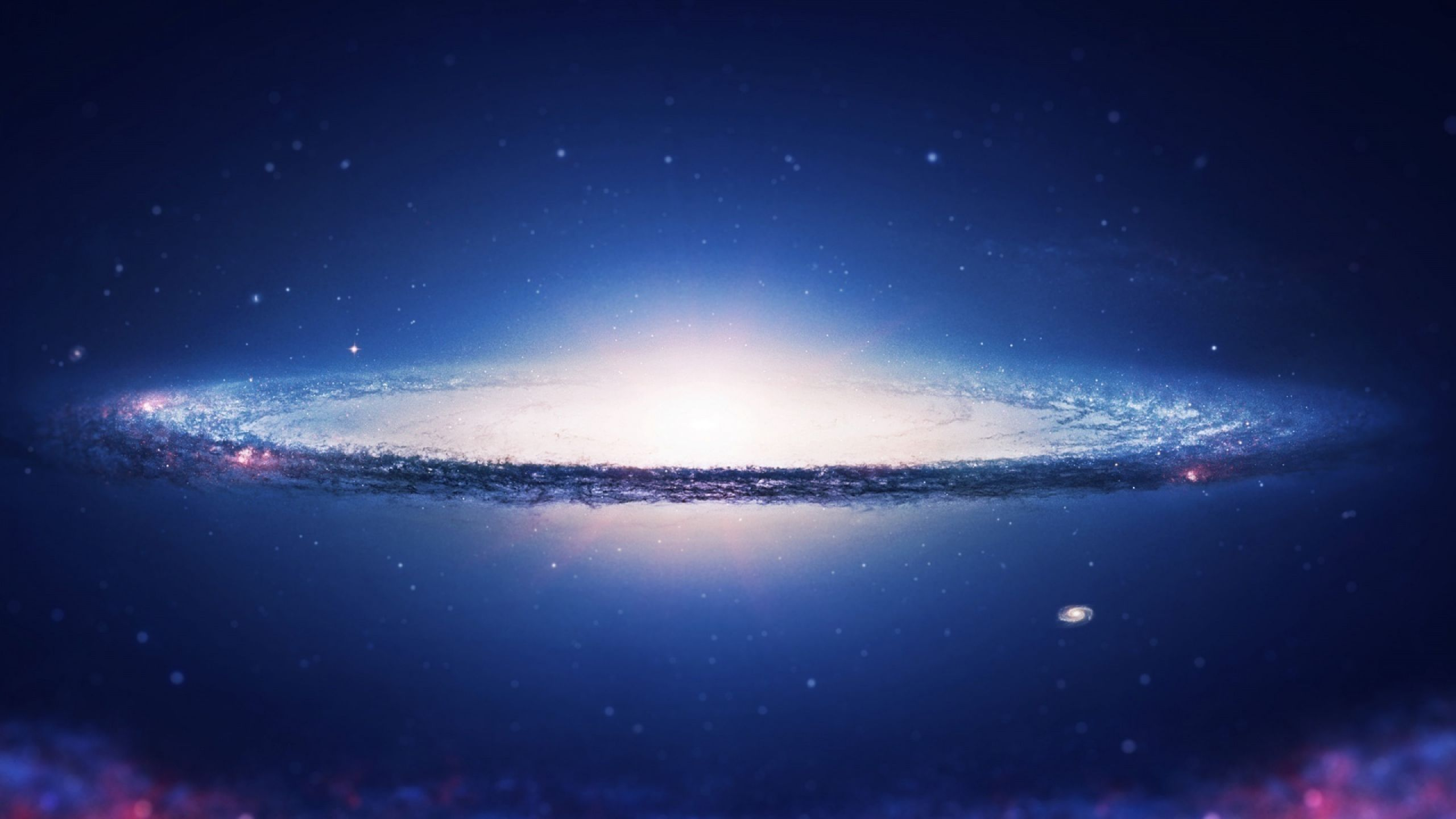 Download Wallpaper 2560x1440 Space, Sky, Spiral, Galaxy
