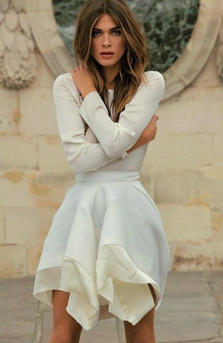 ELISA SEDNAOUI at Chanel Show at Haute Couture Fashion