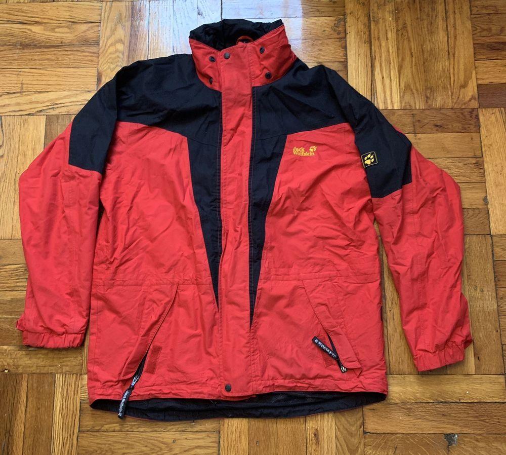 ba4212073b6b52 Details about jack wolfskin jacket men Gore-tex Size: US LARGE in ...