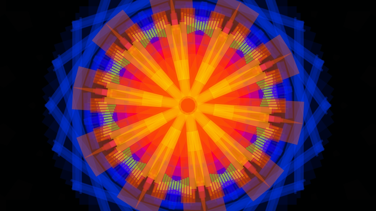 So far, most of my generative art has been just pictures. With my next generative artworks, I will change that and get deeper into animated, reactive and interactive art!   The first one in that series is a music visualizer. I've used spectrum analysis ...