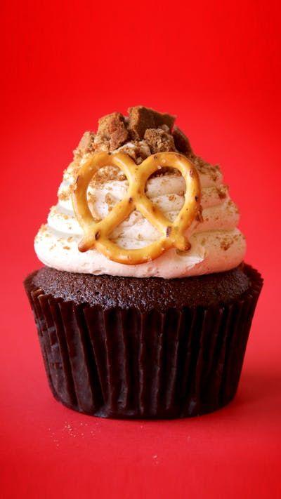 Octoberfest Cupcakes #octoberfestfood