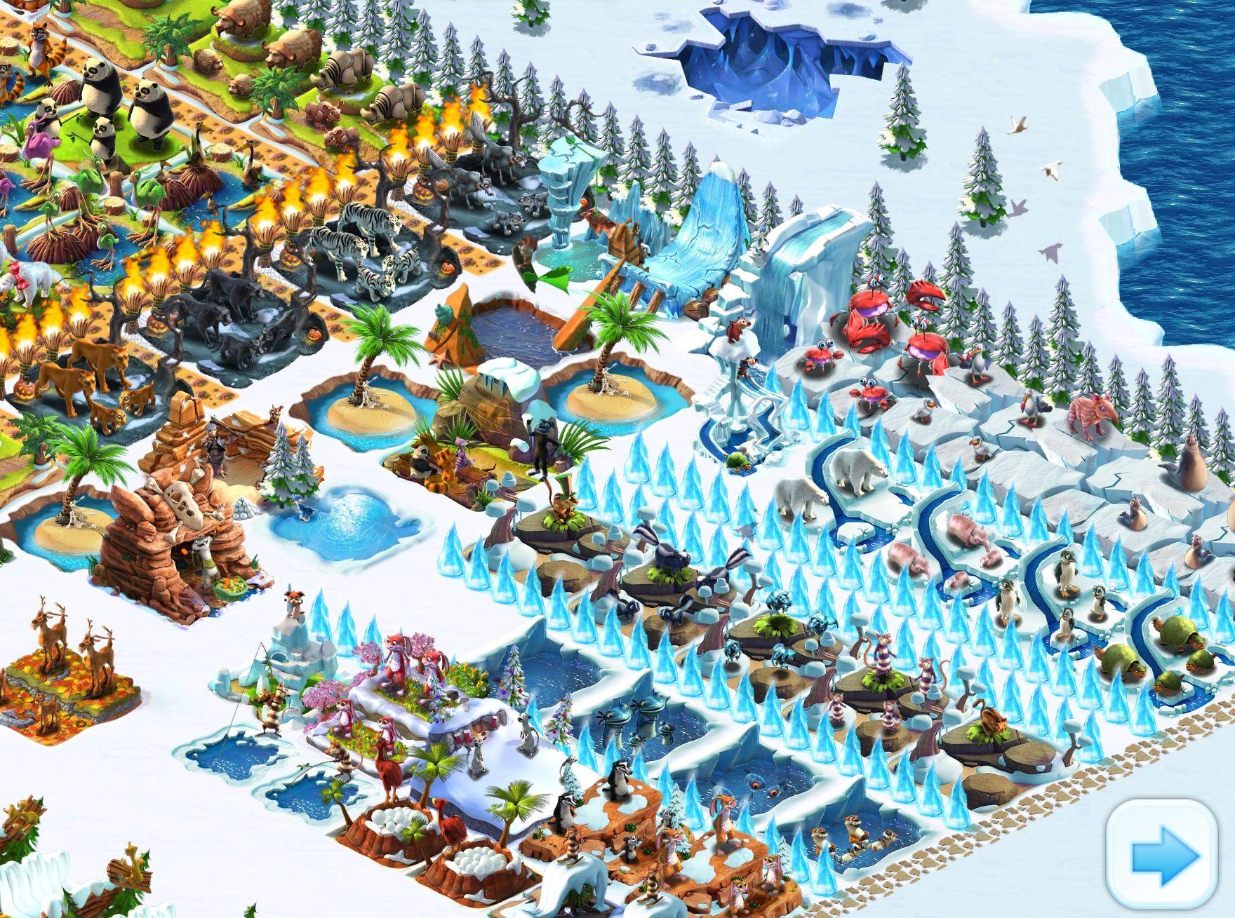 ice age village  age hielo
