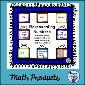 Representing Numbers Place Value Activities Expanded Form