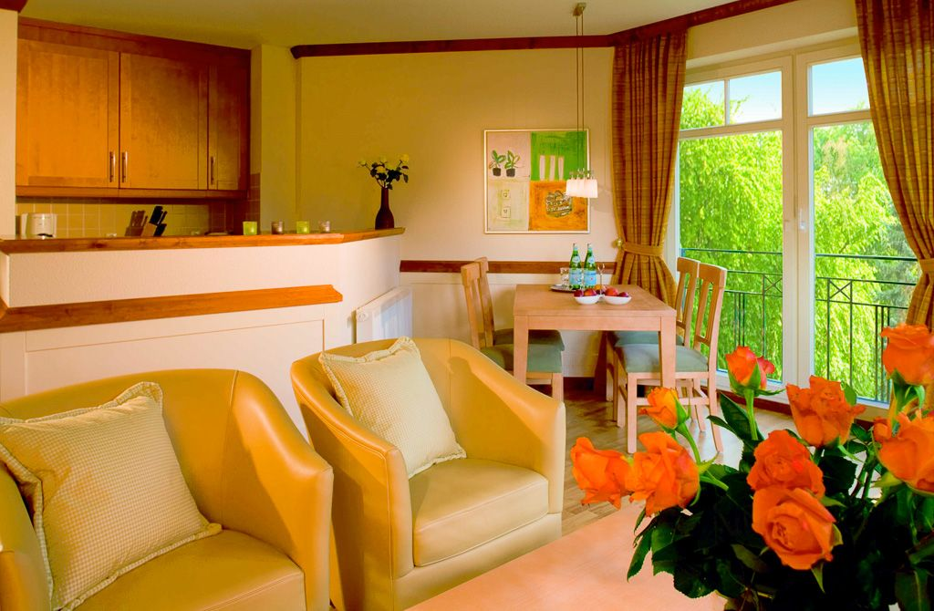Villa Usedom - das Appartementhaus des Strandhotel Ostseeblick / Insel Usedom / Heringsdorf