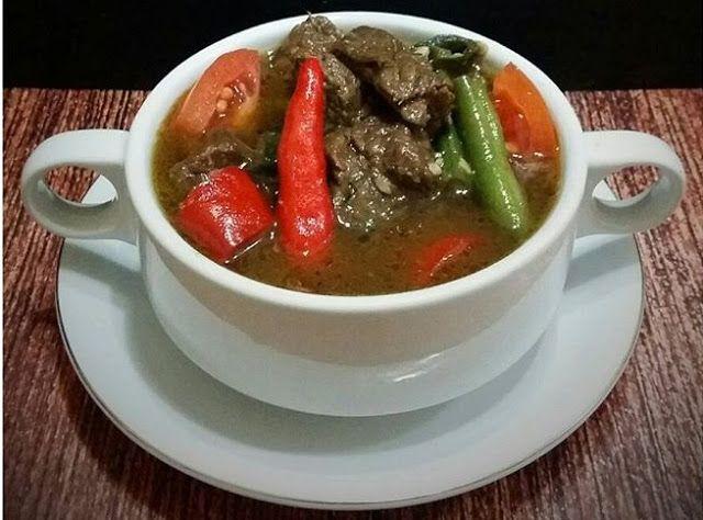 Resep Asem Asem Daging Sapi Dan Buncis Resep Daging Resep Masakan Indonesia Daging Sapi