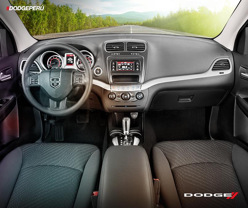 Siéntete cómodo con la versatilidad interior que ofrece la #Journey. Entérate de todo en www.dodge.pe