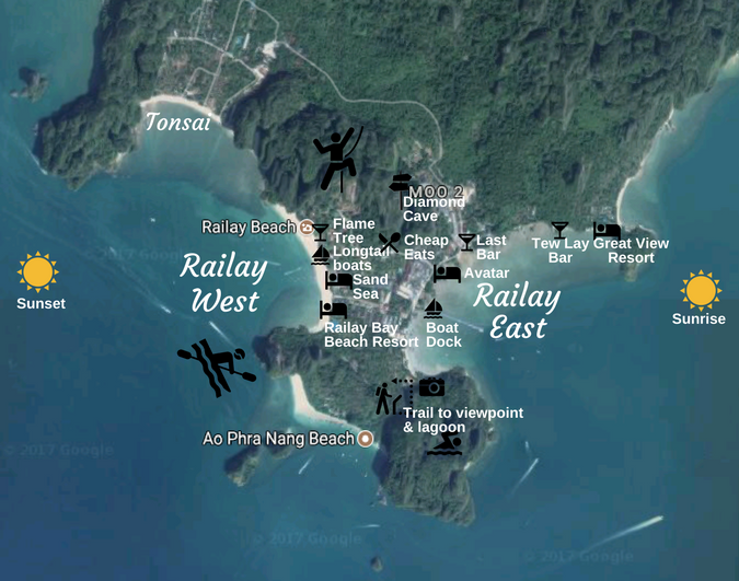Top 10 Things To Do in Railay Beach Thailand Travel Guide Beach