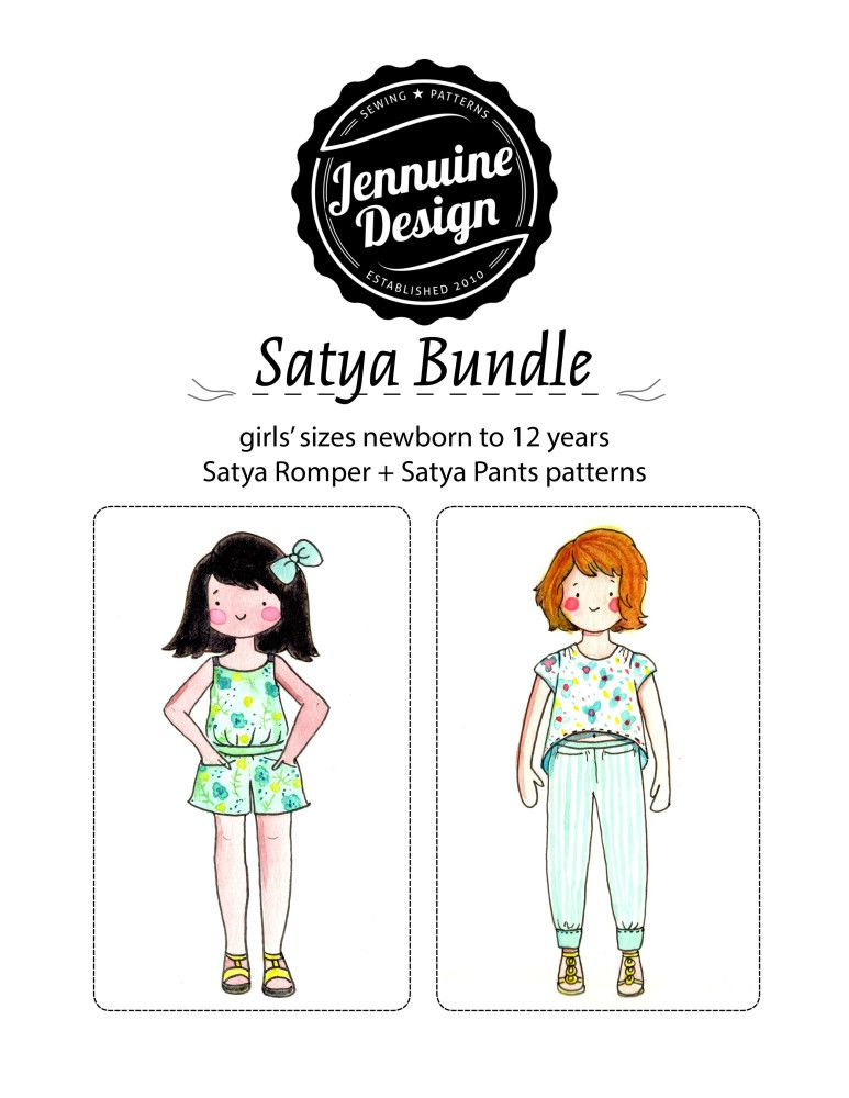 Satya-Bundle-Cover.jpg (773×1000) | Must Have Patterns | Pinterest