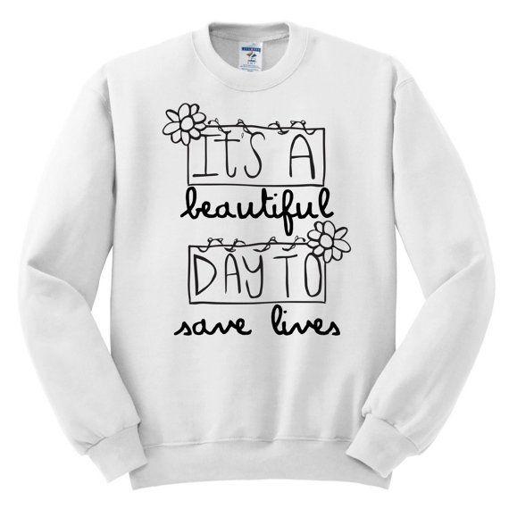 Greys Anatomy Sweatshirt Free Shipping Greys by MelonKiss | Grey\'s ...