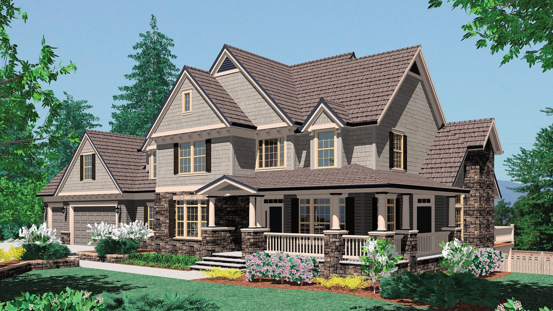Craftsman House Plan 2371a The Hayfield 3155 Sqft 4