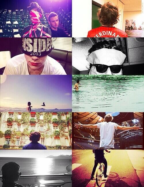 harry being faceless on instagram