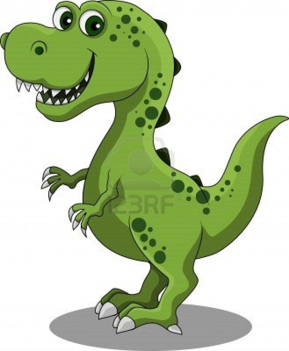 Dinosaur cartoon Stock Photo | Dinos | Pinterest | Dibujos ...