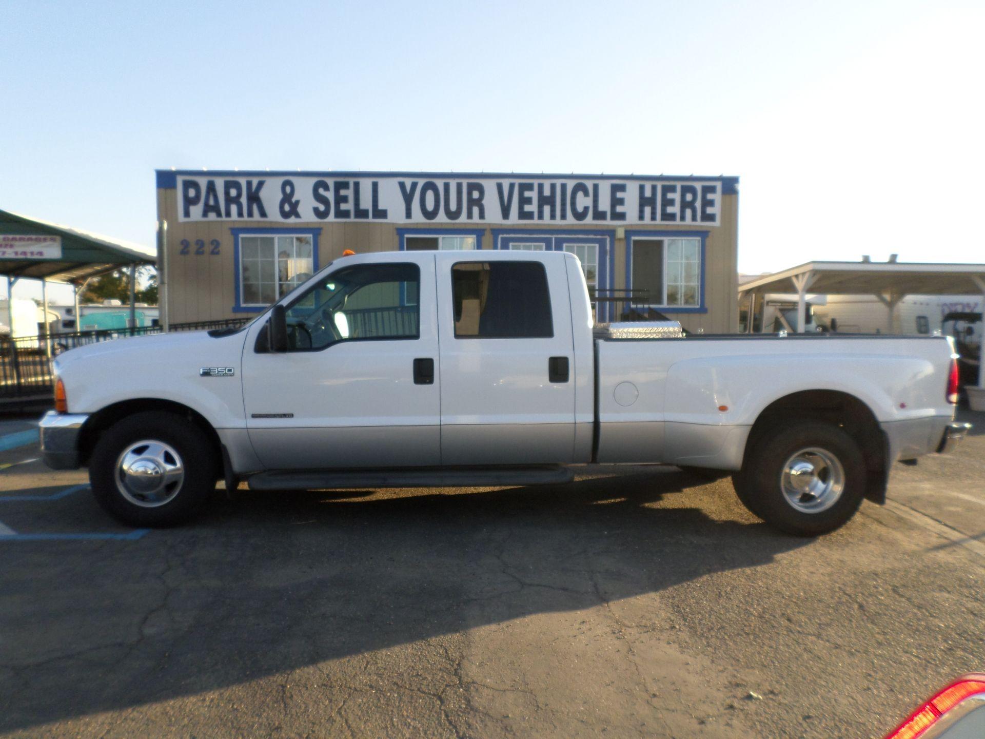 Truck For Sale 2000 Ford F350 Diesel Dually In Lodi Stockton Ca