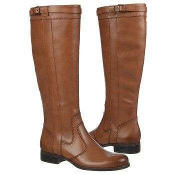 Womens Boots Naturalizer Josephine Wide Calf Banana Bread